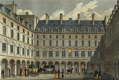 France, Paris, View of the Central Court of the Ministry of Finance--Giclee Print