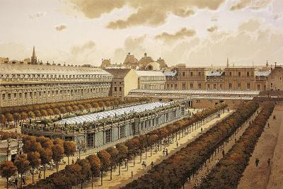 France, Paris, View of the Royal Palace in 1794--Giclee Print