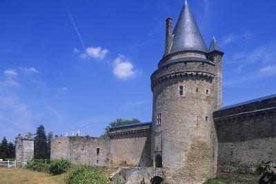 France, Pays De La Loire, Blain, 12th Century Groulais Castle--Giclee Print