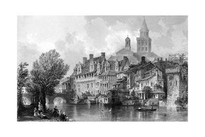 France Perigueux-Thomas Allom-Giclee Print