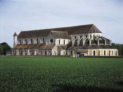 France, Pontigny, Church in 12th Century Cistercian Abbey--Giclee Print