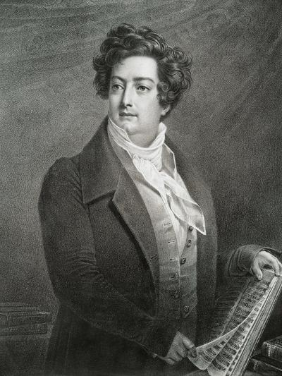 France, Portrait of French Tenor Adolphe Nourrit--Giclee Print