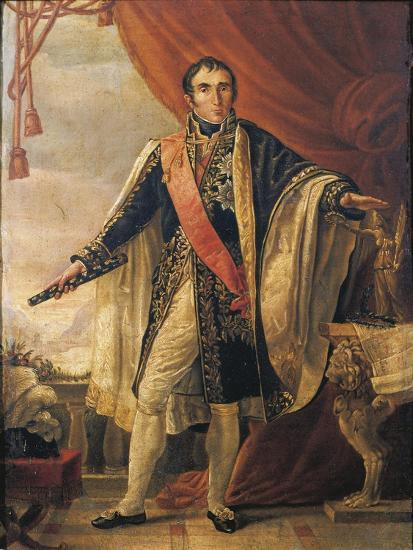 France, Portrait of Jean Andre Massena, French Military Commander--Giclee Print