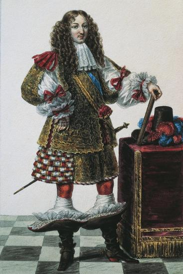 France, Portrait of Louis XIV of France--Giclee Print