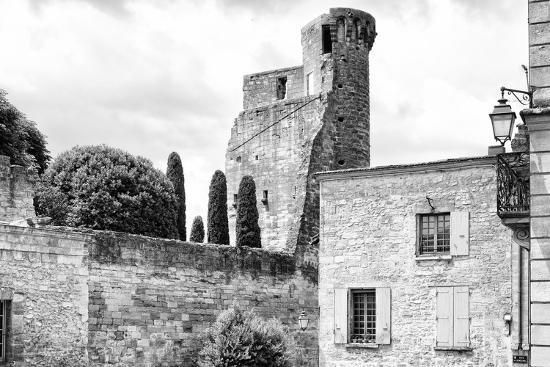 France Provence B&W Collection - Duché d'Uzès-Philippe Hugonnard-Photographic Print