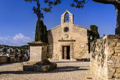 France, Provence, Bouches-Du-Rh?ne, Les Baux-De-Provence, Chapel of the P?nitents Blancs-Udo Siebig-Photographic Print