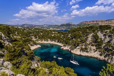 France, Provence, Bouches-Du-Rh™ne, Riviera, Cassis, Calanque De Port Pin-Udo Siebig-Photographic Print