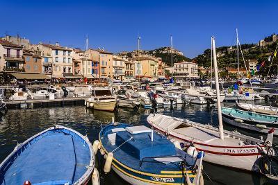 France, Provence, Bouches-Du-Rh™ne, Riviera, Cassis, Harbour-Udo Siebig-Photographic Print
