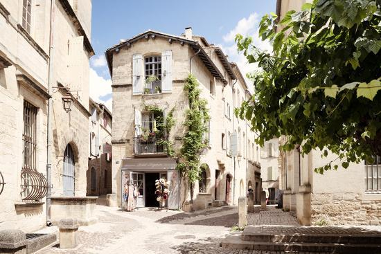 France Provence Collection - Provencal Street - Uzès-Philippe Hugonnard-Photographic Print