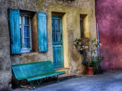France, Provence, Roussillon, Colorful House in Roussillon-Terry Eggers-Photographic Print