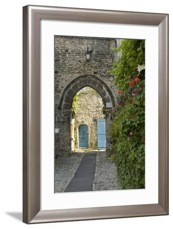 France, Provence, Vaison Du Romain. a Picturesque Lane in the Village-Brenda Tharp-Framed Photographic Print