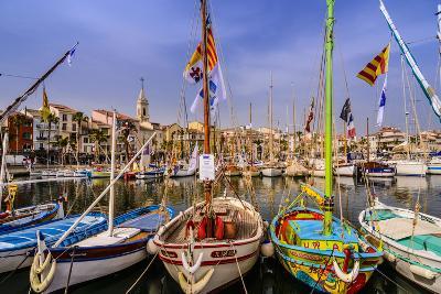 France, Provence, Var, Sanary-Sur-Mer, Harbour-Udo Siebig-Photographic Print