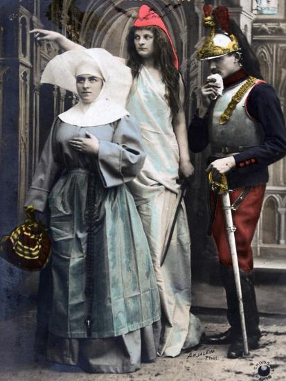 France !!! Quo Vadis?, French WWI Postcard, 1914-1918--Giclee Print