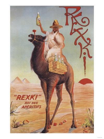 France - Rexki-Lantern Press-Art Print