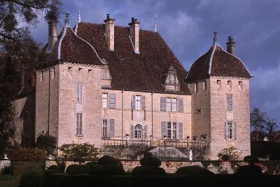 France, Rhône-Alpes, Filain Castle--Giclee Print
