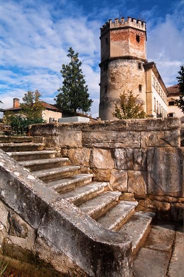 France, Rhône-Alpes, Isère, Saint-Bonnet-De-Chavagne, Castle of Arthaudière--Giclee Print