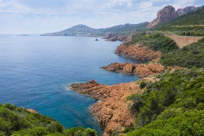 France, the Cote D'Azur, Is the Mediterranean Coastline of the Se Corner of France-Emily Wilson-Photographic Print