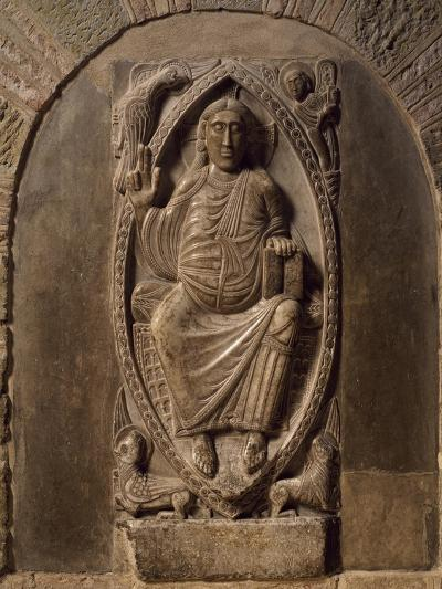 France, Toulouse, Basilica of St Sernin Relief of Christ in Majesty, End of 11th Century--Giclee Print