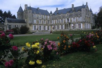 France, Vendée, Fontenay-Le-Comte, 16th Century Terre-Neuve Castle, in Renaissance Style--Giclee Print