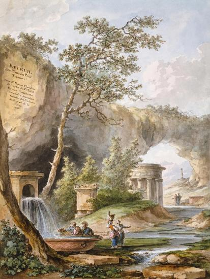 France, Versailles, from Views and Plans of the Petit Trianon at Versailles-Claudio Linati-Giclee Print