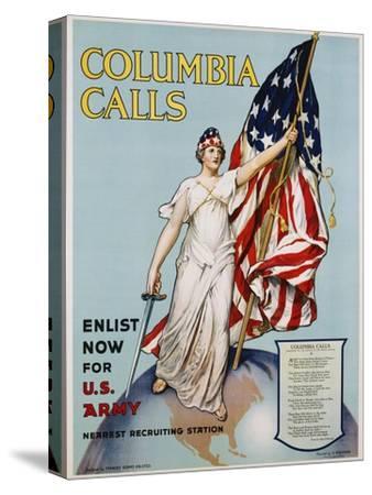 Columbia Calls Recruitment Poster