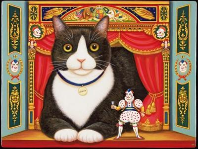 Ambrose the Theatre Cat, 2007 by Frances Broomfield