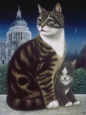 Faith, the St. Pauls Cat, 1995