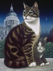 Faith, the St. Pauls Cat, 1995 by Frances Broomfield