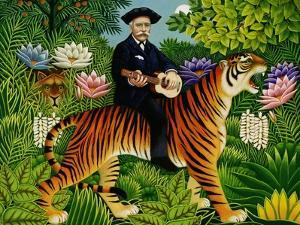 Henri Rousseau's Dream, 1997 by Frances Broomfield