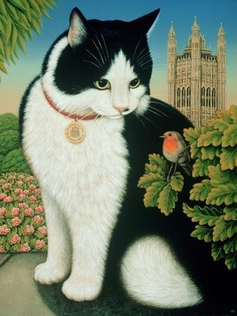 Humphrey, the Downing Street Cat, 1995 by Frances Broomfield