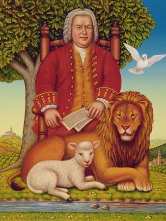 J.S. Bach's (1685-1750) Peaceable Kingdom, 2000