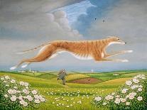 Henri Rousseau's Dream, 1997-Frances Broomfield-Framed Premier Image Canvas