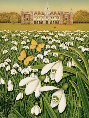 Snowdrop Day, Hatfield House, 1999
