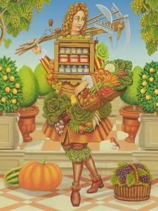 The Kitchen Gardener, 2001 by Frances Broomfield