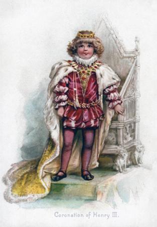 Coronation of Henry III, 1897