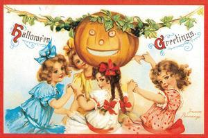 Halloween Greetings 2 by Frances Brundage