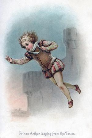 Prince Arthur Leaping from the Tower, 1897