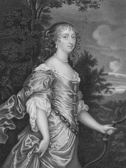 Frances, Duchess of Richmond-Sir Peter Lely-Giclee Print