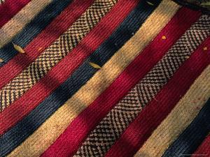 Detail of Traditional Nomad Straw Mat, Djibouti, Djibouti by Frances Linzee Gordon