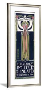 Glasgow Institute Of Fine Arts Exhibition by Frances Macdonald