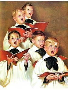 """Choir Boys Will Be Boys,""December 10, 1938 by Frances Tipton Hunter"