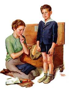 """Growing Boy,""September 16, 1939 by Frances Tipton Hunter"