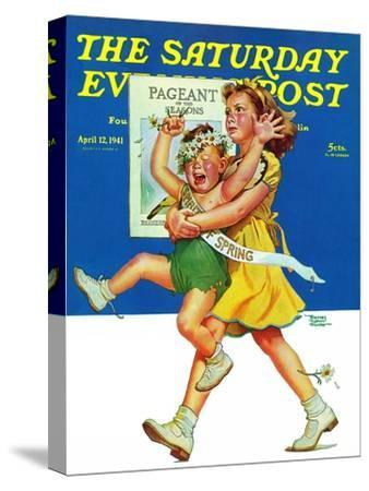 """""""Spring Pageant,"""" Saturday Evening Post Cover, April 12, 1941"""
