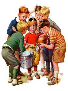 """""""You Can Be the Water Boy!,""""November 27, 1937 by Frances Tipton Hunter"""