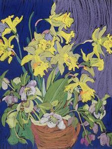 Daffodils with Jug by Frances Treanor