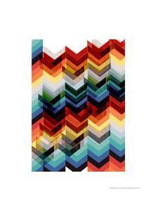 Multicolour Chevron by Francesca Iannaccone