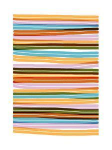 Palm Spring Stripes by Francesca Iannaccone