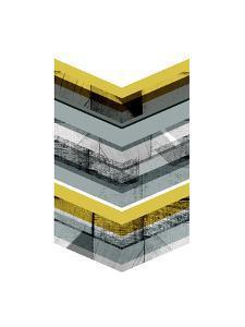 Yellow Chevron by Francesca Iannaccone
