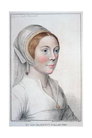 Catherine Howard, fifth wife of Henry VIII, (1796)
