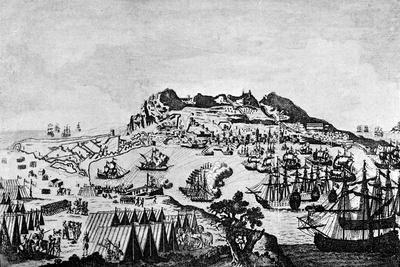 Gibraltar during the American War of Independence